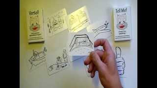 Vertel! Spreekbeurtspel speluitleg (c)Kees van der Waal