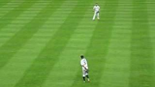 2009年6月30日のマリナーズ戦@ヤンキースタジアム。