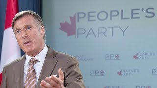 Maxime Bernier launches the People