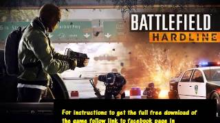 battlefield hardline crack only download