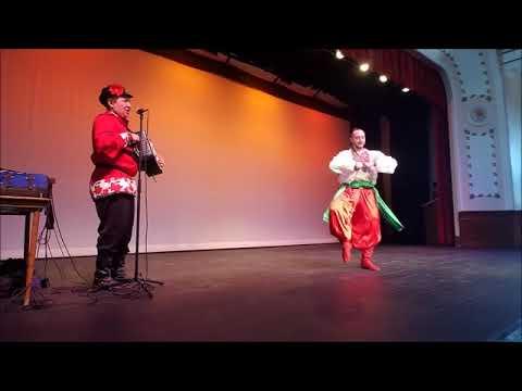 Chippewa Falls, WI Ukrainian Gypsy Russian dances balalaika garmoshka