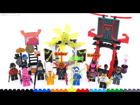 LEGO Ninjago Gamer's Market review! 71708 from YouTube · Duration:  14 minutes 26 seconds