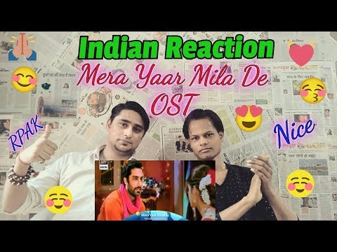 Indian Reaction on Mera Yaar Milade Ost By Rahat Fateh Ali Khan