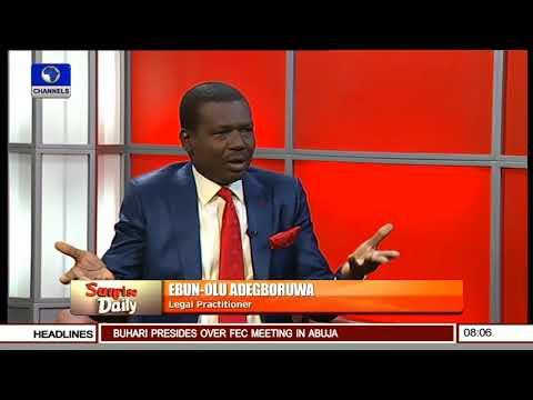 Operation Python Dance Is Illegal - Ebun-Olu Adegboruwa Pt 1 | Sunrise Daily |