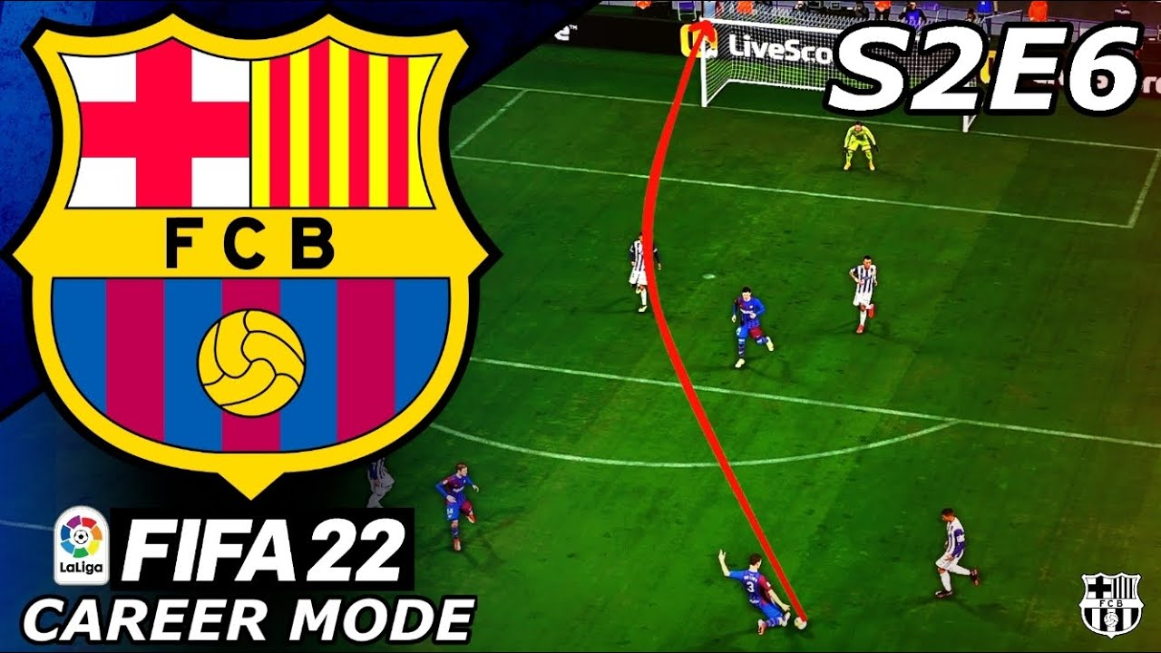 Download OUR NEW SIGNING SCORES A WORLDIE!!🎯- FIFA 22 Barcelona Career Mode S2E6