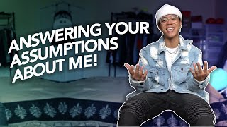 Answering Your Assumptions About Me! *FIRST YOUTUBE VIDEO*