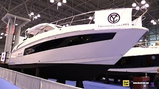 2015 Cruisers Yachts 390 Express Coupe - Walkaround - 2015 New York Boat Show