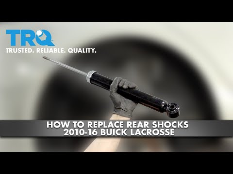 How To Replace Rear Shocks 2010-16 Buick LaCrosse