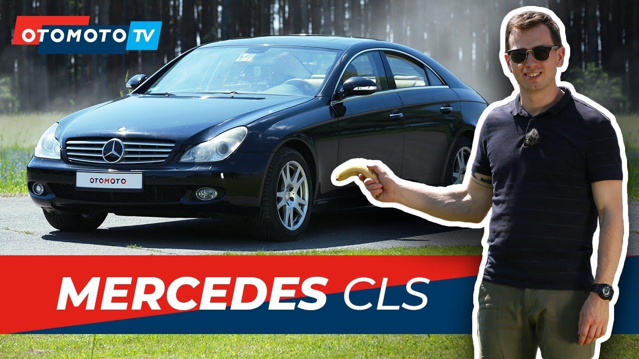 Mercedes CLS 350 W219 (2005)  - Bananowe auto? |Test i Recenzja OTOMOTO