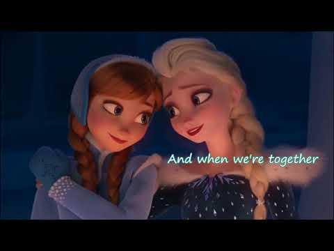 When We're Together ~ Karaoke (Olaf's Frozen Adeventure)