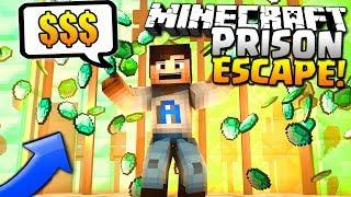 BEST MONEY MAKING METHOD! - (Minecraft Prison Escape #5)