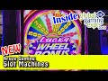 Preview of Aruze Gaming's NEW Slot Machines at G2E - NO SPINNING REELS? - Inside the Casino