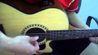 Người tôi yêu Chí Dân   Cover acoustic guitar