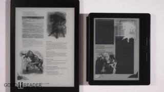 Kobo Aura One vs Kindle Oasis Comparison