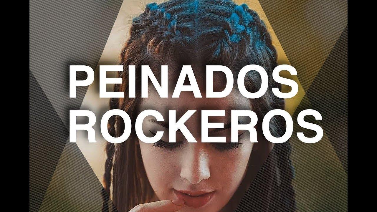 Exquisito peinados rockeros Imagen de cortes de pelo Ideas - Peinados rockeros ¡NADA mejor que el Rock and Roll! - YouTube
