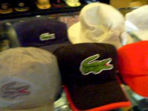 Lacoste Hats - YouTube 7c84701f40d