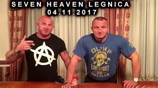 Pudzian Live Show w SEVEN HEAVEN w Legnicy 04.11.2017