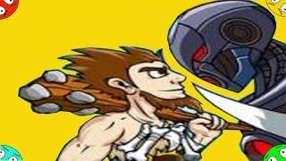 🐾 БИТВЫ ВЕКОВ игра сражение Age of War 2 мультяшная стратегия видео для ребят