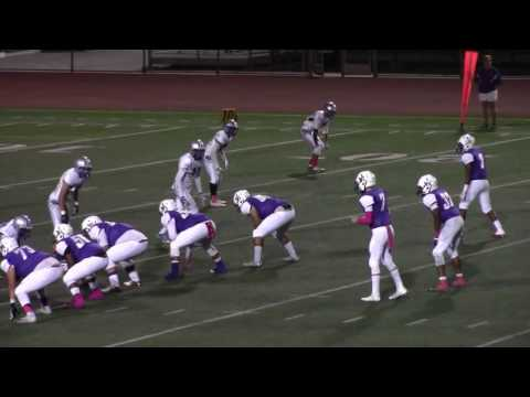 Jurupa Hills vs Rialto football 2016