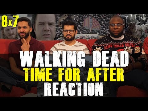 Walking Dead - 8x7 Time for After - Reaction