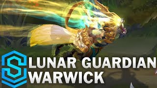 Lunar Guardian Warwick Skin Spotlight - Pre-Release - League of Legends