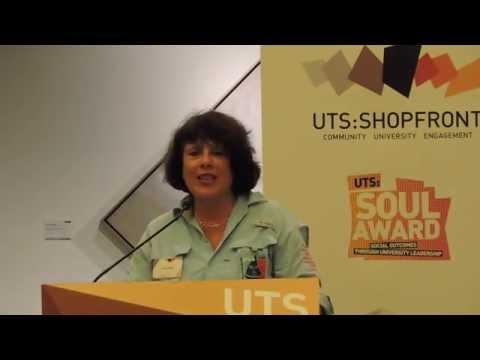 UTS Shopfront case 2015  Deborah Sandars Vice President, Sailors With disABILITIES
