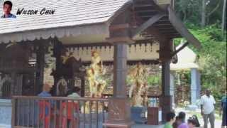 Mount Matang Sri Maha Mariamman India Temple at Kuching, Borneo.