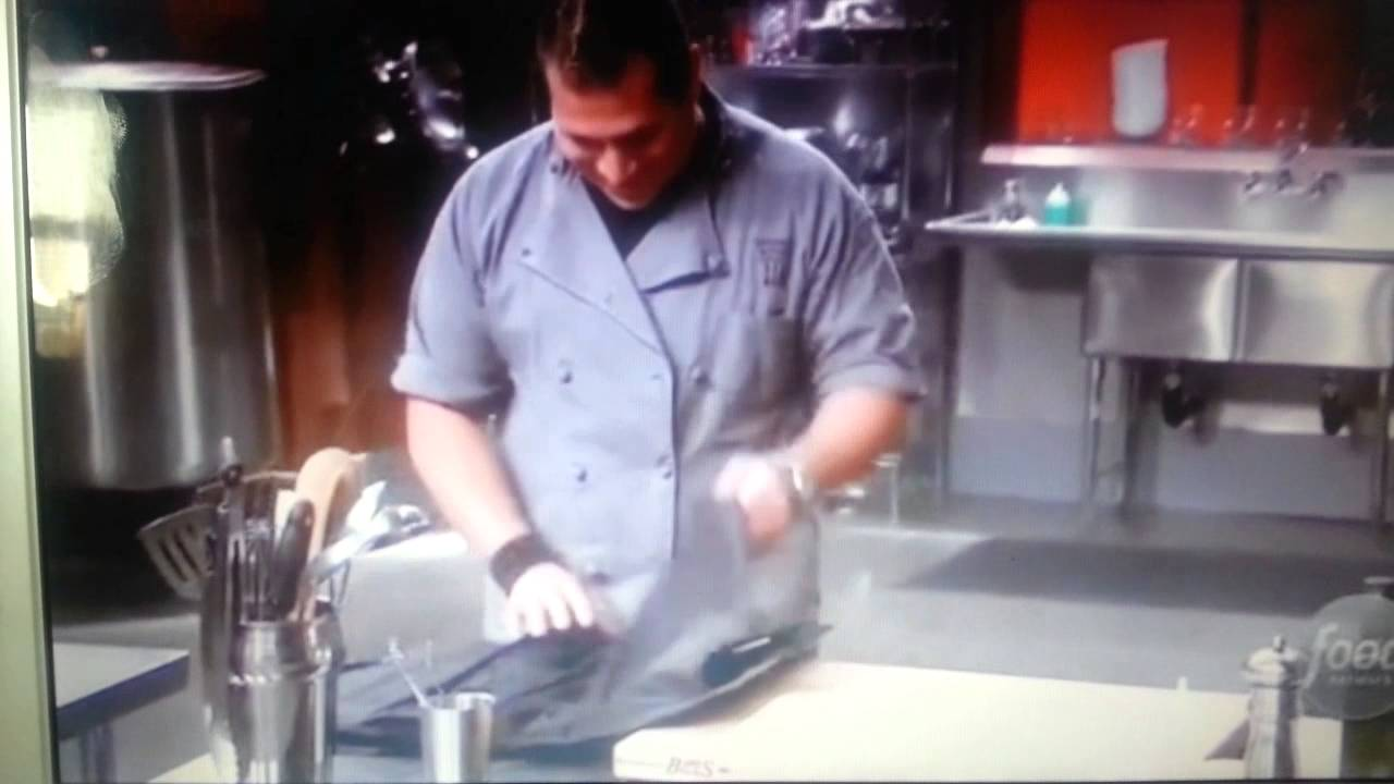 DJ CHEF FOOD NETWORK CUTTHROAT KITCHEN