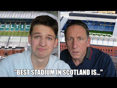 CELTIC or RANGERS? - Ranking Every Scottish Premiership STADIUM