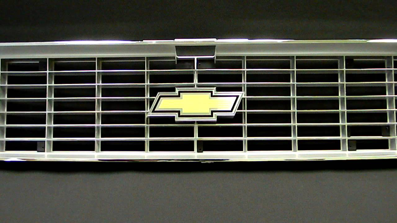 1973- 1974 Chevy Truck Front Grille USA1 Industries Chevy Truck ...
