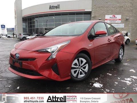 2016 Toyota Prius Technology Advance Package Brampton On Attrell
