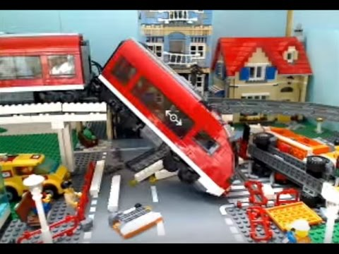 lego city train crash - Dessin Anim Lego City