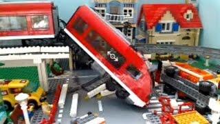 Lego City Train Crash