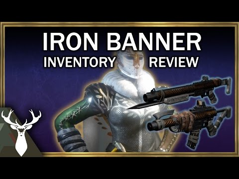Iron Banner Inventory Review (Oct. 4 - 10) + New Cutscene!