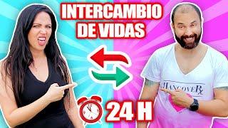 INTERCAMBIO DE VIDAS por 24 HORAS 😱 Cambio de Cuerpo con mi Hermano! Sandra Cires Art ft MiraElPipi