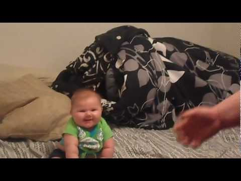 DAD WRESTLES BABY (shocking outcome!)