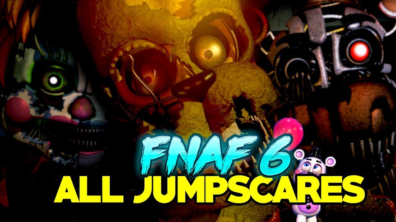 ᐈ Five Nights at Freddy's Pizzeria Simulator: EVERY JUMPSCARE (All