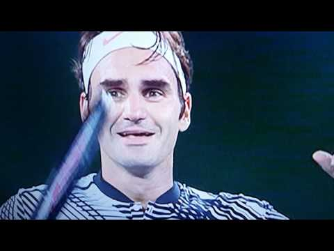 Federer Behind the scenes with family and hall of fame