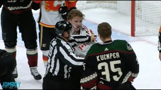 darcy-kuemper-drops-matthew-tkachuk-in-flames-and-coyotes-fight-a-breakdown