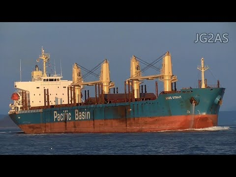 BASS STRAIT バラ積み船 Bulk carrier PACIFIC BASIN 2017-NOV