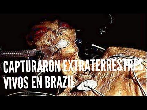 CAPTURARON EXTRATERRESTRES VIVOS EN BRAZIL NAUFRAGOS DEL ESPACIO
