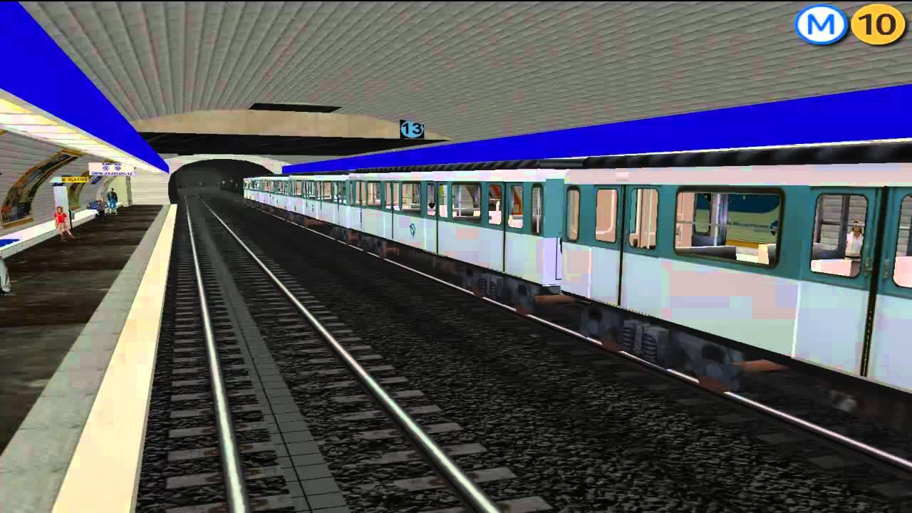 msts metro parisien ligne 10 gare d 39 austerlitz