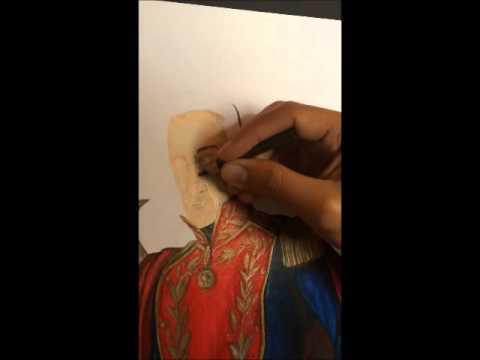 Simn Bolvar  Dibujando 2014  YouTube