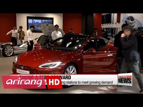 Tesla makes official landing in Korea