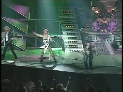 SCORPIONS [ ROCK YOU LIKE A HURRICANE ] LIVE,1991