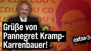Torsten Sträter: Sprecher von Annegret Kramp-Karrenbauer