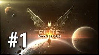 [Episode 1] Elite: Dangerous PS4 Gameplay [Is the Thrustmaster HOTAS 4 Worth it?]