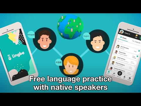 Lingbe app - Practice languages instantly via free phone calls with natives speakers