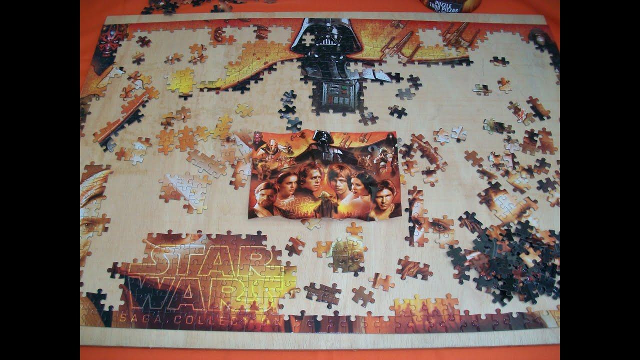 star wars puzzle saga collection 2 parcial youtube. Black Bedroom Furniture Sets. Home Design Ideas