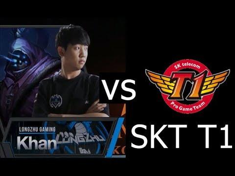 5 Minutes of Longzhu Khan destroying Skt